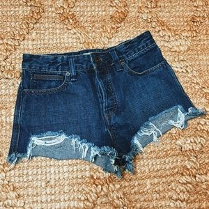 🔥 SALE Free people cut off destroyed jean short